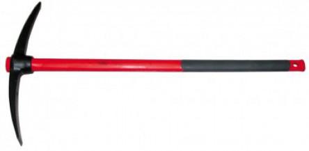 Pico 2,5 kg. ojo redondo acero reforzado (mango fibra)
