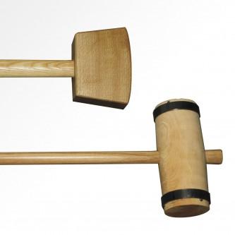 Mazas de madera