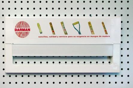 Mini-Plancha Cuelgamangos adaptable a Lineal